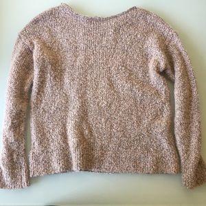 GAP light pink sweater size M